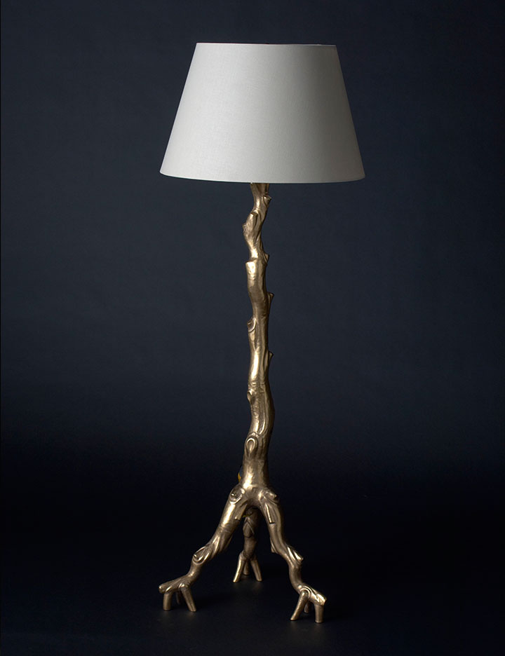 New Gold Stand Up Lamp